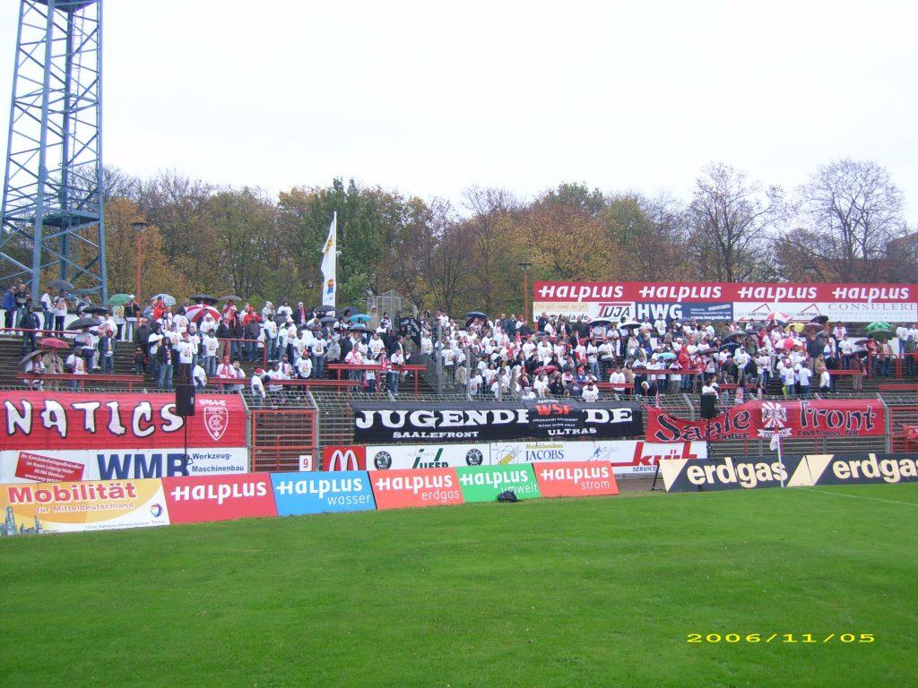 Hallescher FC – Energie Cottbus II, 05.11.2006