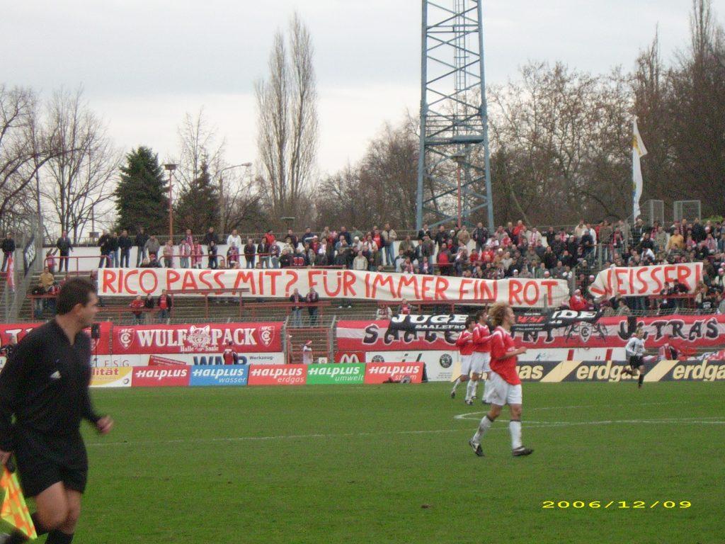Hallescher FC – SV Dessau 05, 09.12.2006