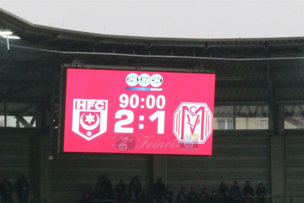 Hallescher FC – SV Meppen 2:1