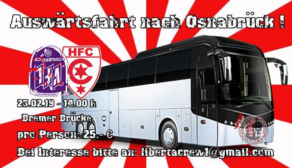 Busplätze nach Osnabrück und Aalen