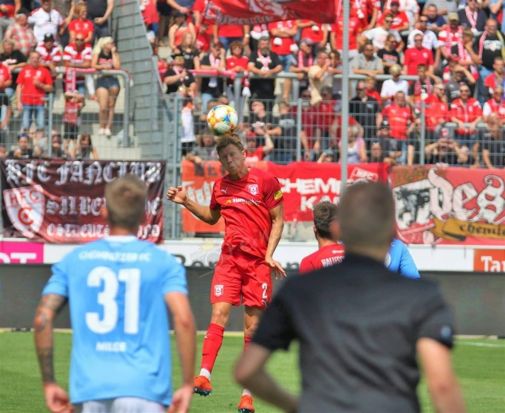 Hallescher FC – Chemnitzer FC 3:1 – Videos und Bilder