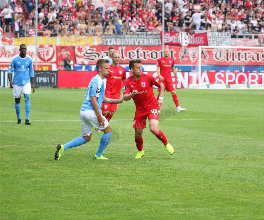 Spieler des Spiels gegen Chemnitz