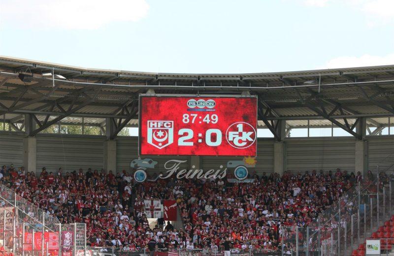 4.Spieltag HFC-Lautern 2:0 2018/19